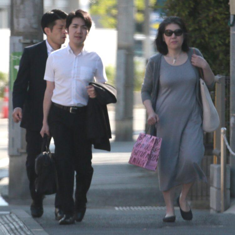 小室さんと母・佳代さん
