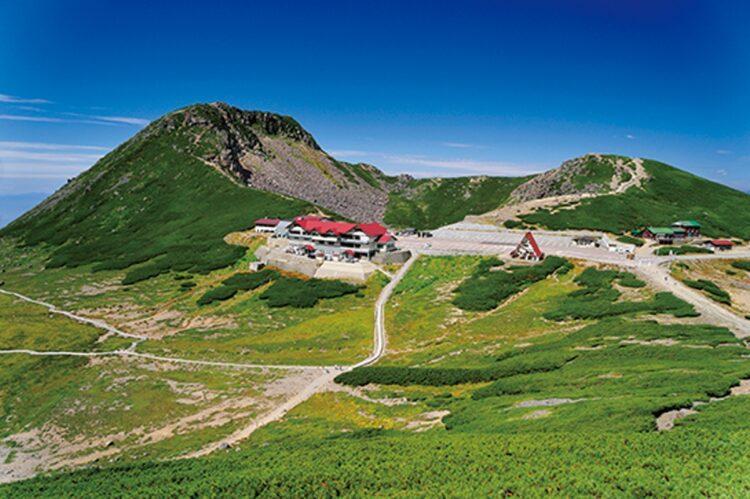 日本では数少ない3000m峰