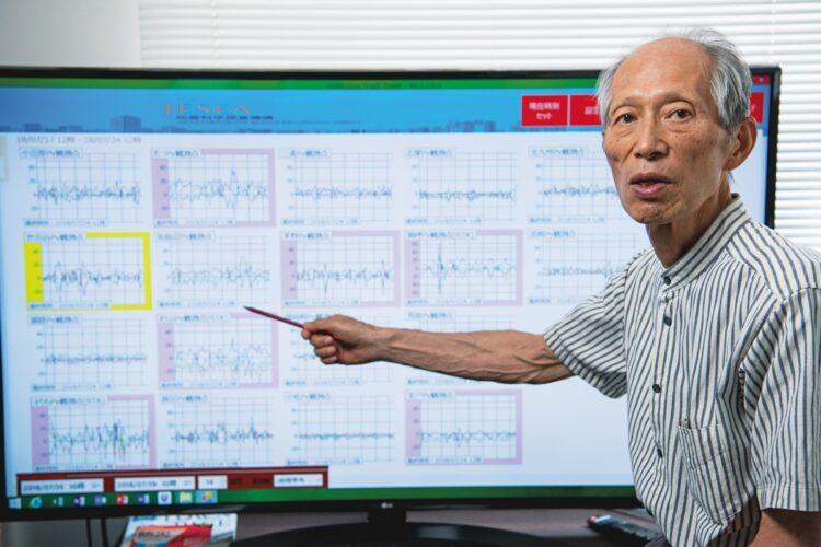 「MEGA地震予測」を主宰する村井俊治・東大名誉教授