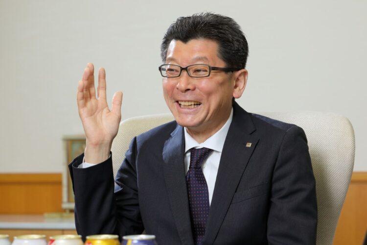 サッポロビール新社長の野瀬裕之氏