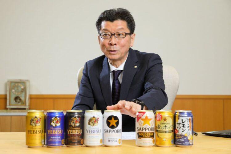 サッポロビールの野瀬裕之社長