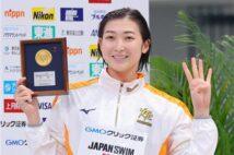 池江璃花子、五輪切符は「偶然じゃなくて必然」 代表HCをうならせた技術と勝負勘