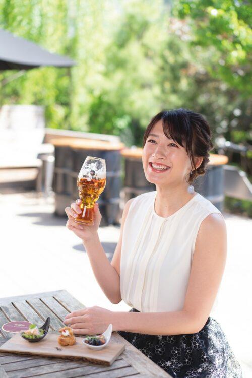 元フジテレビアナ・大島由香里さんが東京都のクラフトビール店をめぐった
