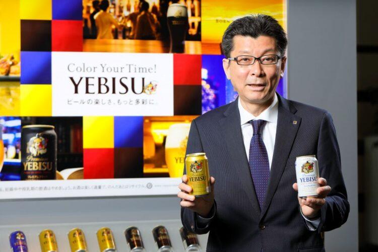 サッポロビール社長の野瀬裕之氏