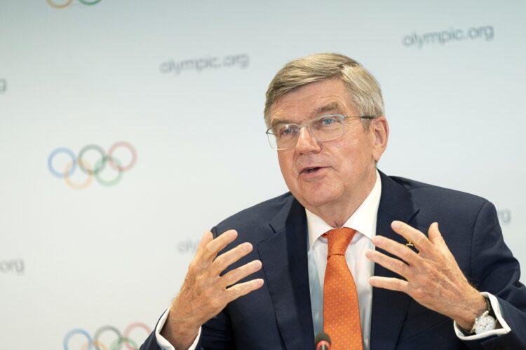 """IOC幹部は""""貴族待遇""""が約束されている?(写真はIOCバッハ会長/時事通信フォト)"""
