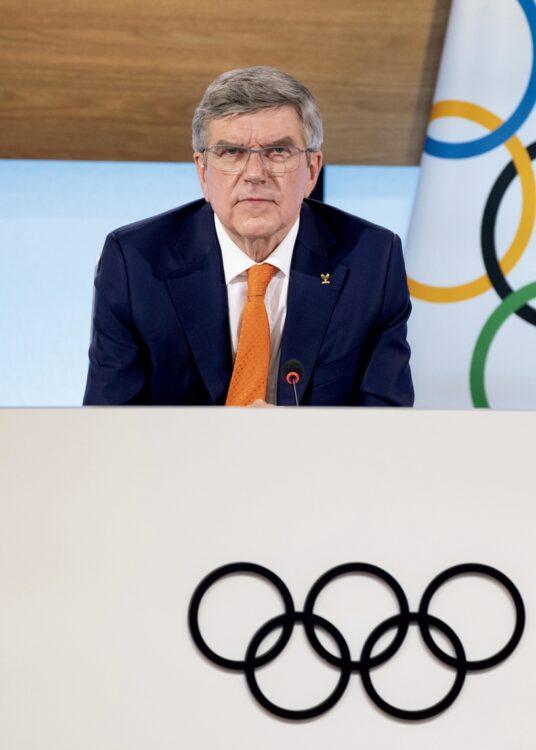 トーマス・バッハ(IOC会長/時事通信フォト)