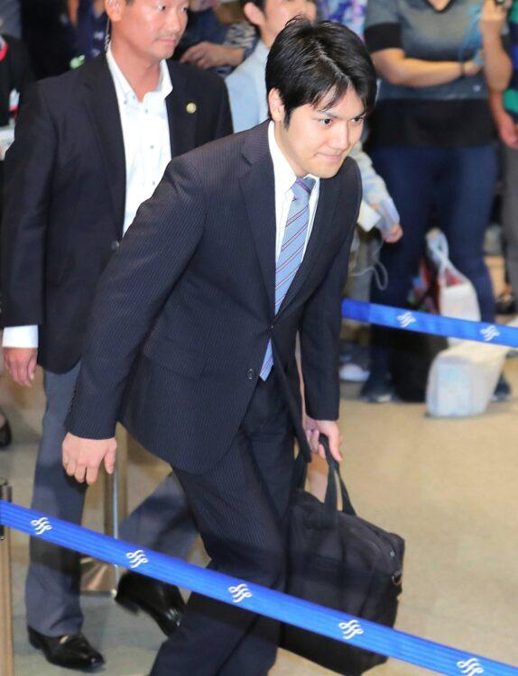 小室圭さんの帰国後の行動にも注目(時事通信フォト)