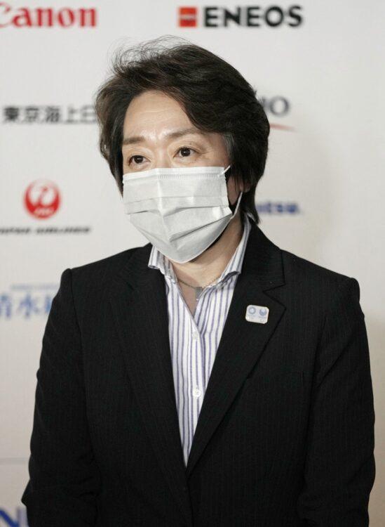 橋本聖子・東京五輪組織委員会新会長(写真/共同通信社)