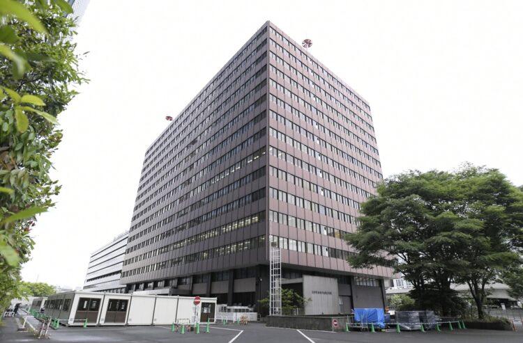 東京の大規模接種センターが設置される「大手町合同庁舎3号館」(共同通信社)