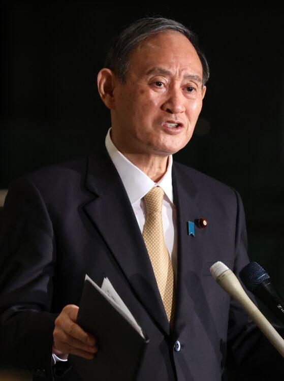 菅義偉・首相(時事通信フォト)