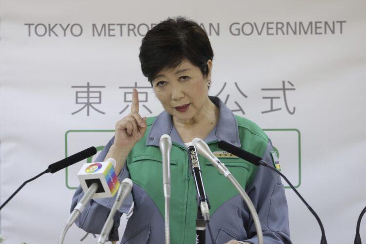 自民党総裁選に出馬した経験を持つ小池百合子氏(写真/共同通信社)