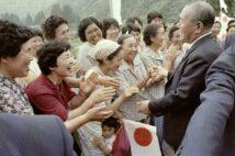1983年、事件後も越後人は角さんを見放さなかった(写真/共同通信社)