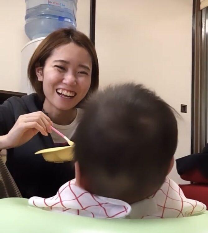 「離乳食は好き嫌いなく食べてくれます」(和さん)(写真/本人提供)