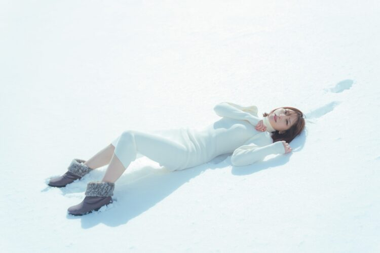 雪と結晶とあまつまりな