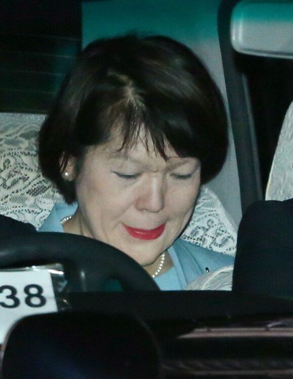 小室佳代さんは、いまだ元婚約者との直接交渉に応じていない(時事)