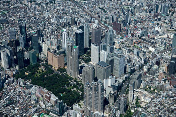 都内有数の規模を誇るオフィス街となった西新宿の現在