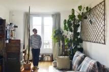 パリの暮らしとインテリア[9]家具は古材でDIY! テキスタイルデザイナーが暮らす市営アパルトマン
