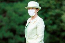 皇后雅子さま、若草色のセットアップ姿 全国植樹会での麗しきたたずまい