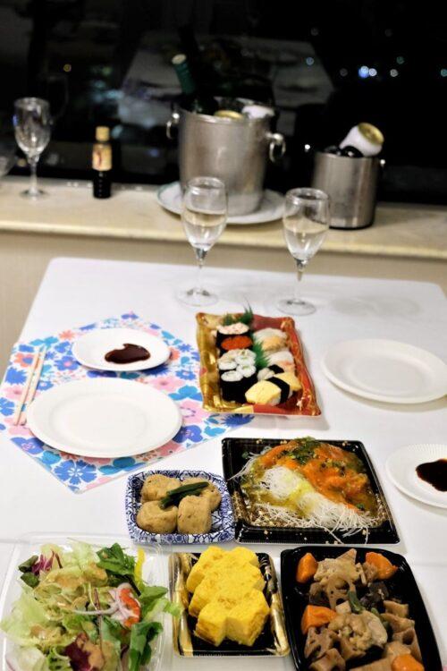 コロナ禍もあり、ホテルの客室内で食事をとる人が増えている