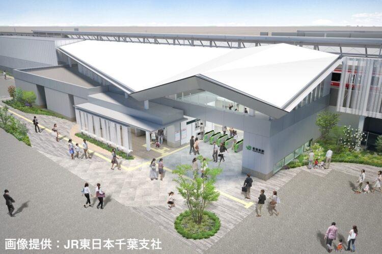 幕張新駅の駅名公募が始まった。開業は2023年春予定