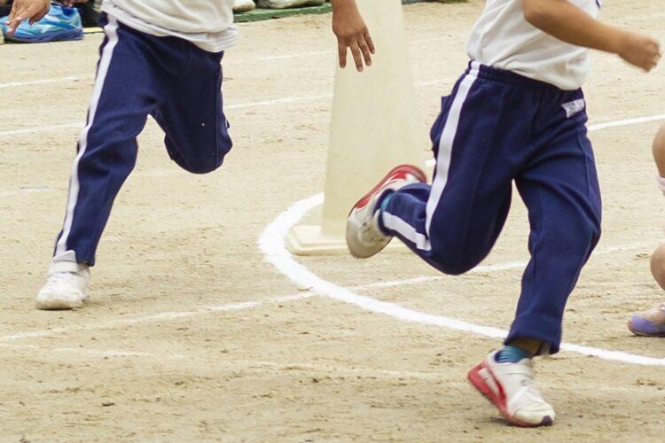 2021年の運動会はほとんどの競技が中止された縮小開催だった(イメージ)