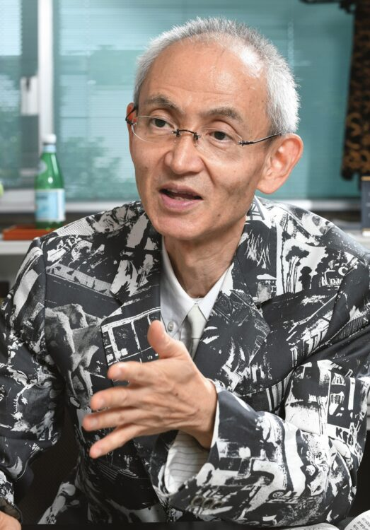 京都大学の鎌田浩毅名誉教授