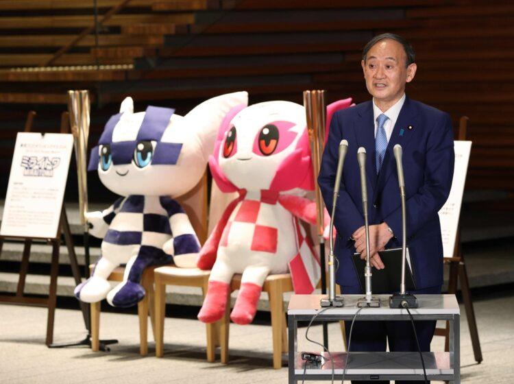菅義偉・首相は何を見据える?(時事通信フォト)