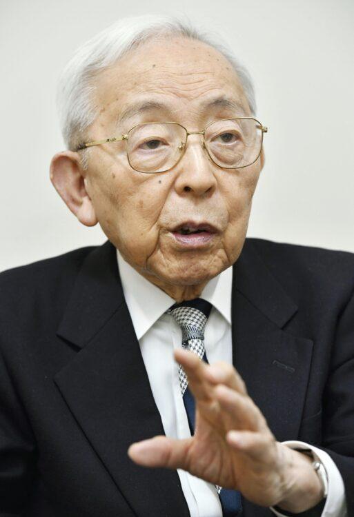 認知症研究の第一人者・長谷川和夫氏(写真/共同通信社)