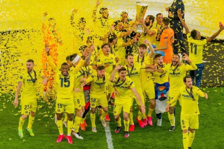 ヨーロッパリーグで優勝を果たしたビジャレアル(Getty Images)