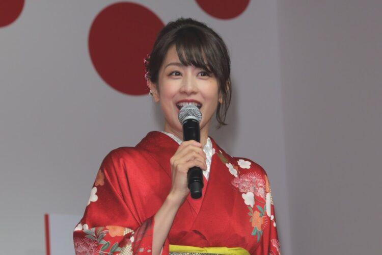 フリー転身後も帯番組を任されている加藤綾子アナ(36歳)