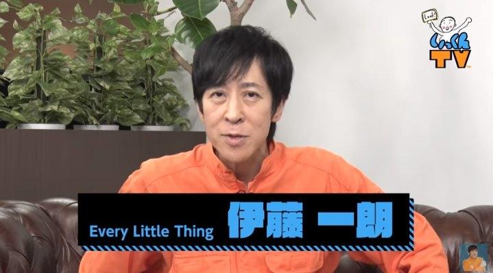 やつれた様子の伊藤(YouTubeチャンネル「ELT伊藤一朗 いっくんTV」より)