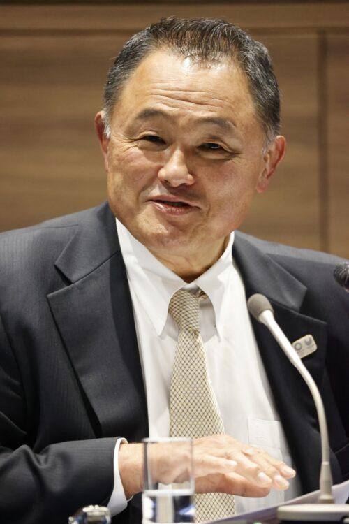 山下泰裕JOC会長はコメントを発表せず(共同通信社)