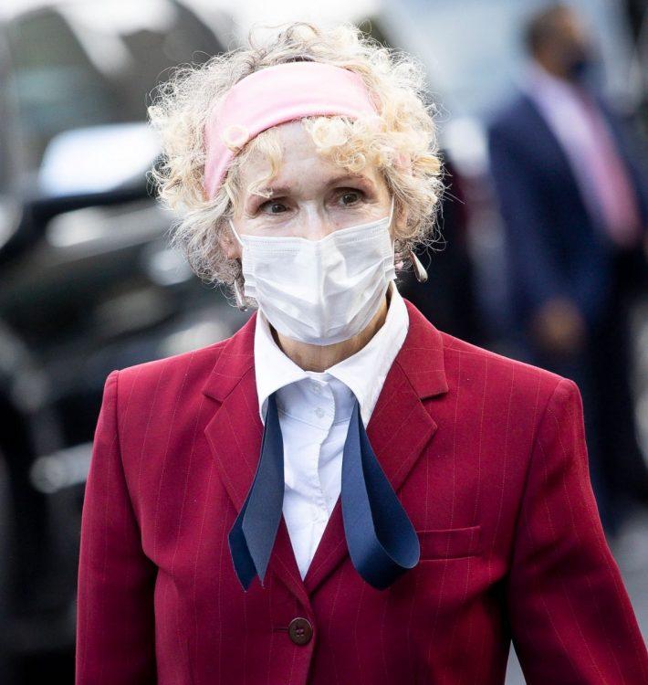 全米の女性たちに絶大な支持があるキャロルさん(EPA=時事)