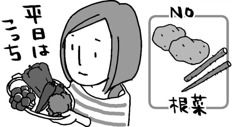 かかる手間を考えて食材を選ぶ