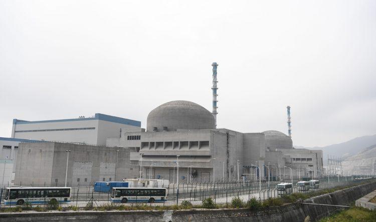 今年の4月、福島第一原発の件を非難していたが…(写真は中国・台山原発/AFLO)