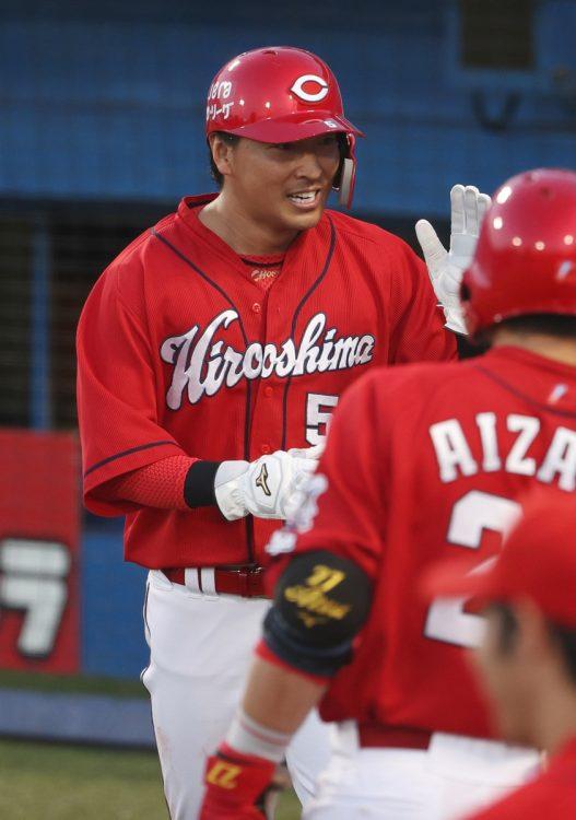 長野久義選手(時事通信フォト)