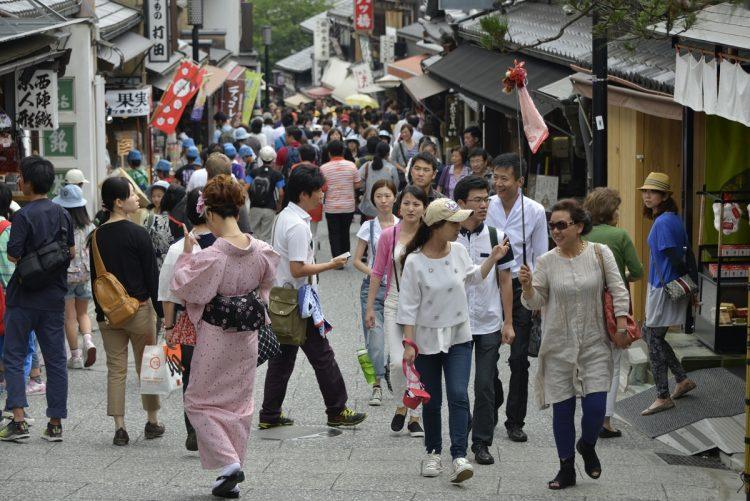 京都市内(時事通信フォト)