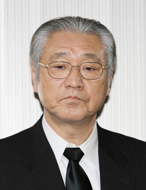 大古誠司氏(松平康隆監督のお別れ会、2012年撮影/時事通信フォト)