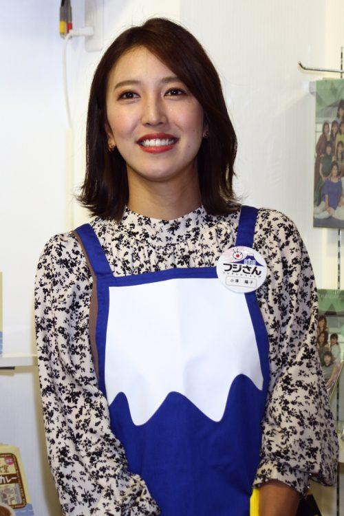 小澤陽子アナ(写真/ロケットパンチ)