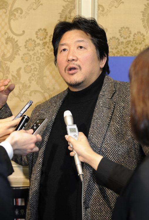 前田日明氏がアントニオ猪木の訓示を振り返る(時事通信フォト)