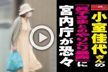【動画】小室佳代さんの「眞子さまとのやりとり暴露」に宮内庁が恐々
