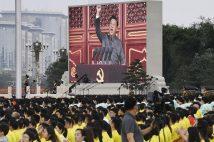 中国では最近、「横たわり族」なる言葉も(写真/共同通信社)