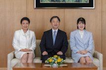 天皇皇后両陛下と愛子さま(写真/宮内庁提供)