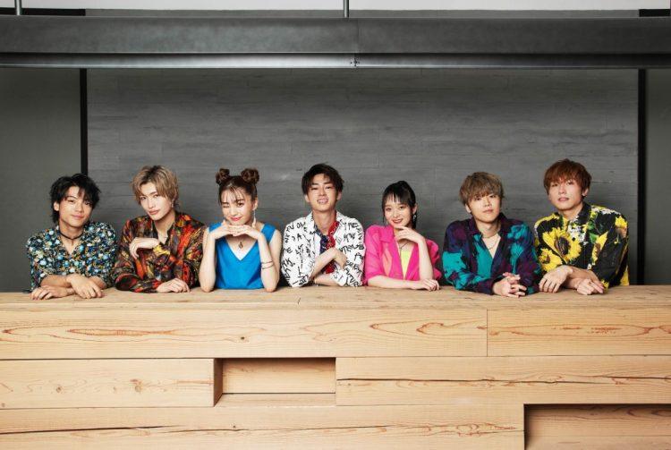 男女7人組グループのGENIC