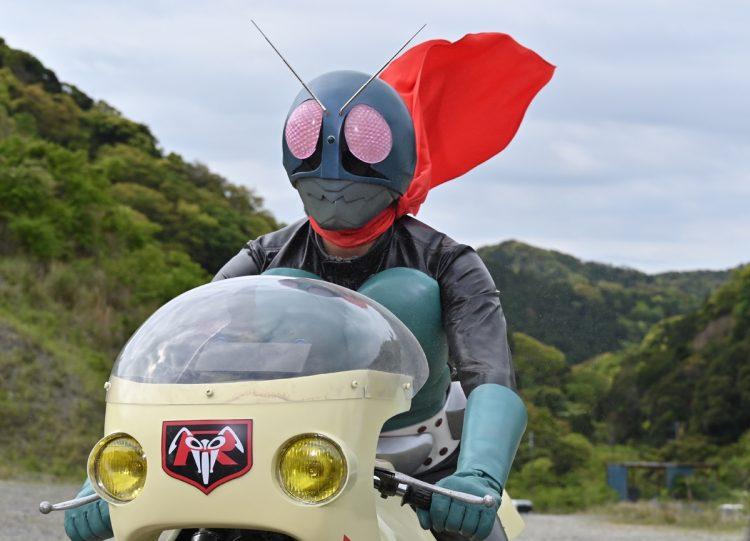 『スーパーヒーロー戦記』では、懐かしい仮面ライダー1号の戦闘シーンも見られる。『スーパーヒーロー戦記』製作委員会(c)石森プロ・テレビ朝日・ADK・EM・東映(c)2021テレビ朝日・東映AG・東映