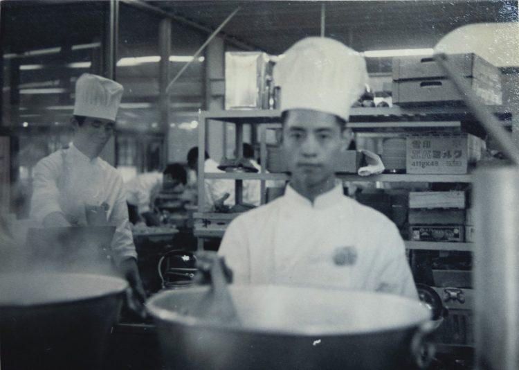 東南アジアなどの選手向けの「富士食堂」の料理人だった鈴木勇さん