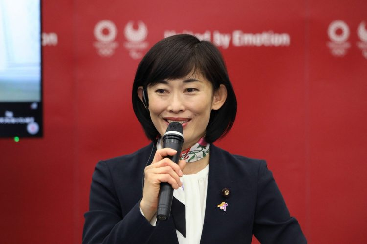 丸川珠代・五輪相(写真/AFP=時事)