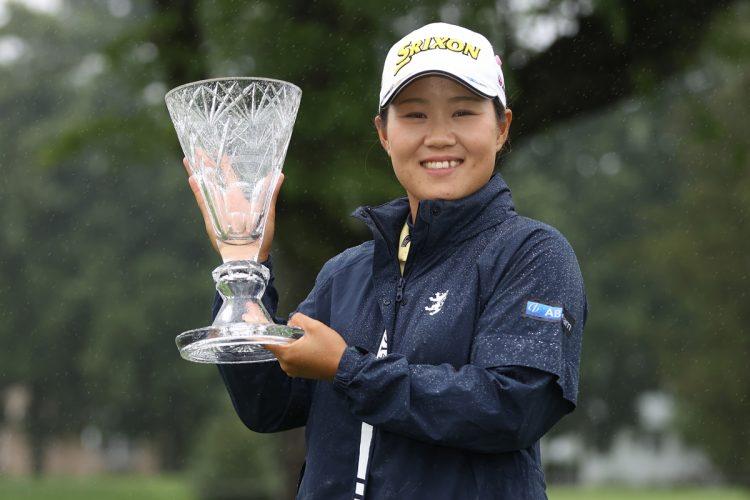 メダルへの期待がかかる畑岡奈紗(Getty Images)