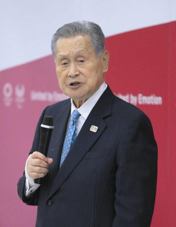 森喜朗・元首相(時事通信フォト)