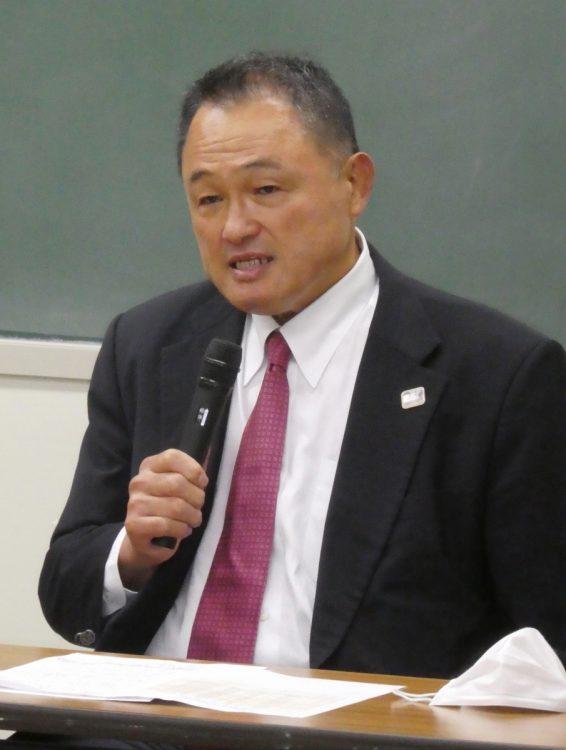 山下泰裕・JOC会長(時事通信フォト)